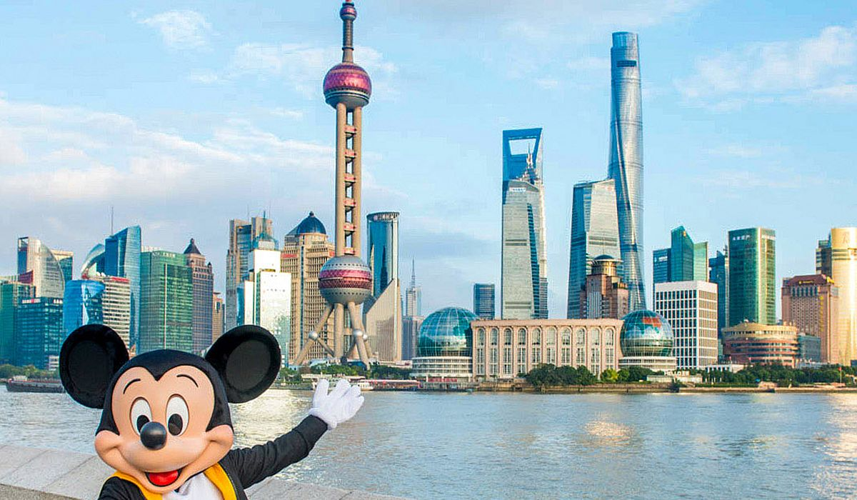 Mickey Mouse in Shanghai