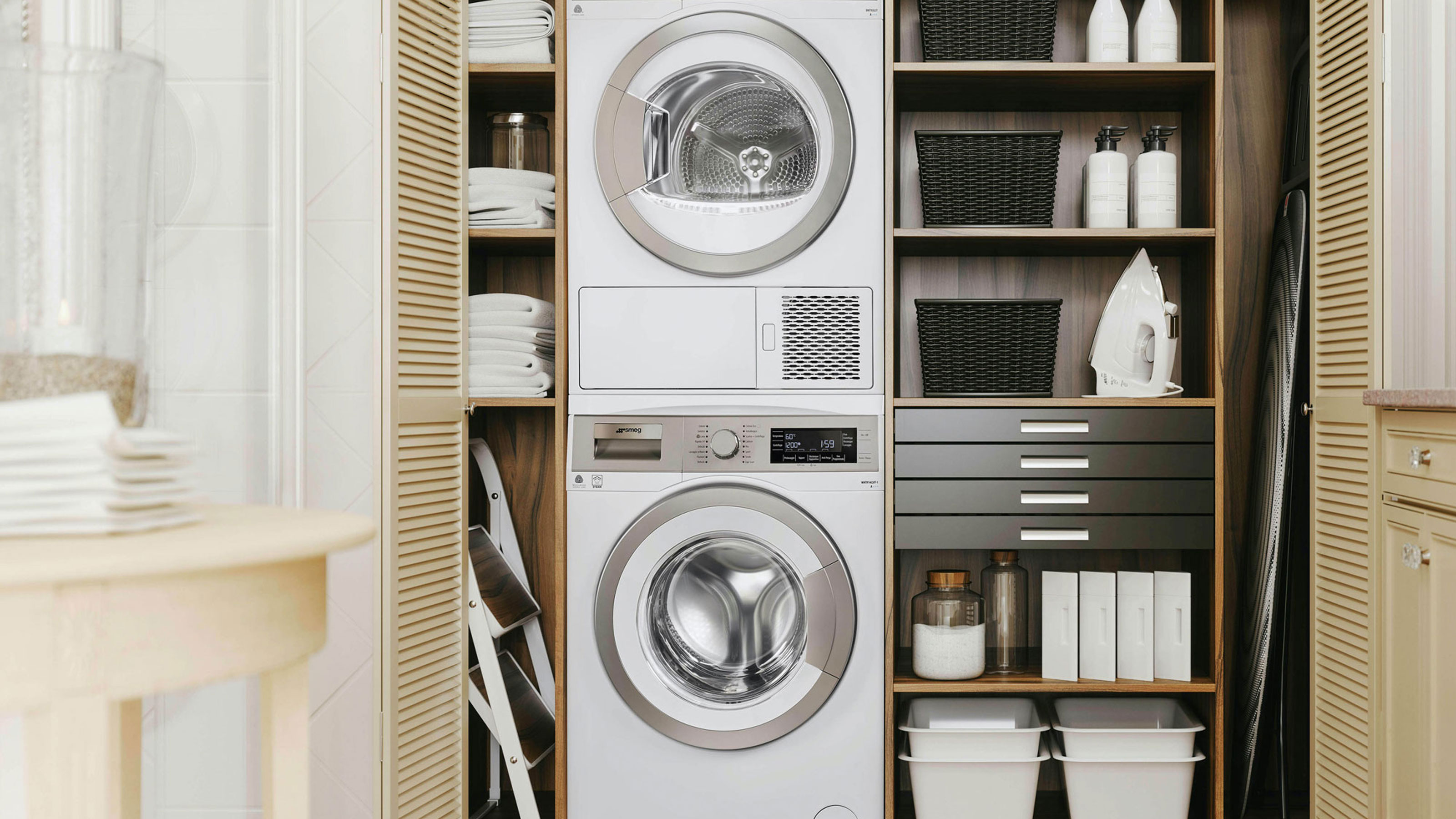 How to design a laundry room Advice for planning a utility   Real ...