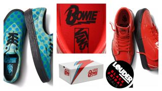 Bowie Vans shoes
