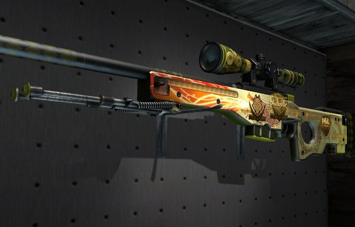 CS:GO 'Dragon Lore' AWP skin sells for more than $61,000