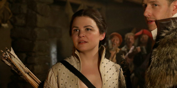 Ginnifer Goodwin as Snow White on Once Upon a Time