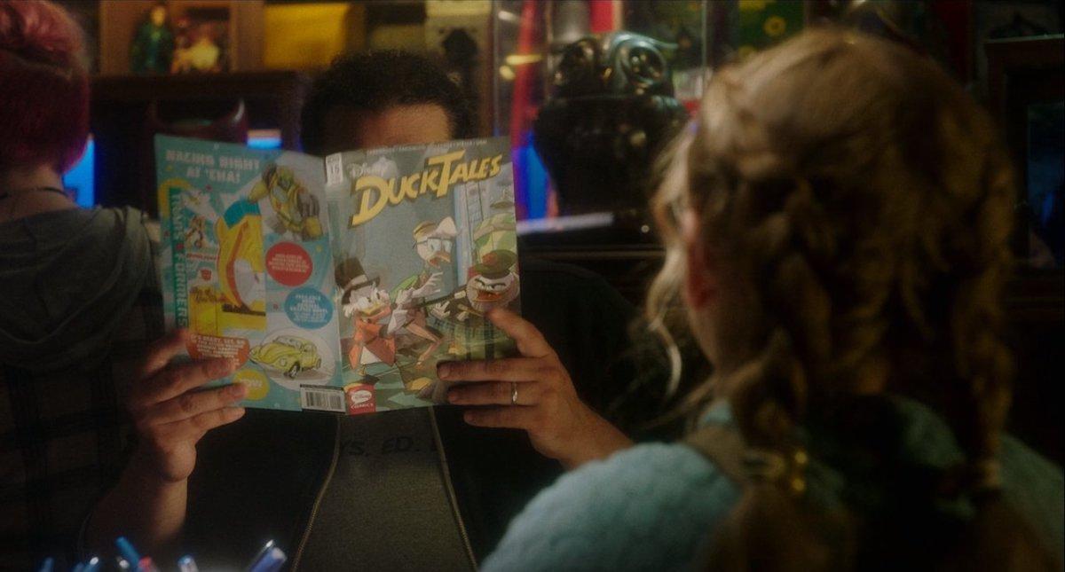 Ducktales Bobby Moynihan as Stanlee in Flora & Ulysses