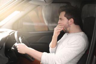 drowsy driver, driving, sleepy driver