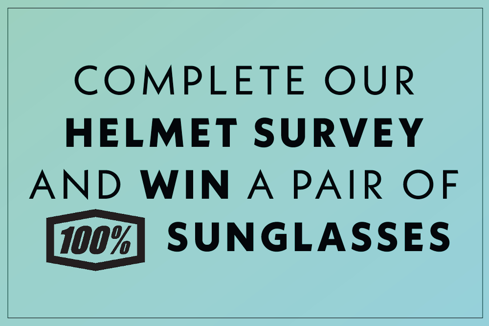 Win a pair on 100% sunglasses