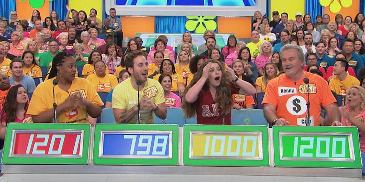 The Price Is Right One Bid Contestant's Row screen shot