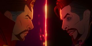 The two Doctor Strange's face off on Marvel's What If...? (2021)