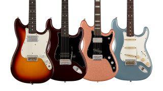 """Four new Fender Custom Shop """"Student"""" guitars"""