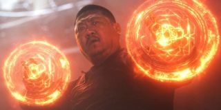 Wong with his magic at the ready Marvel