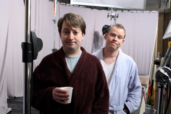 Robert Webb and David Mitchell in Peep Show