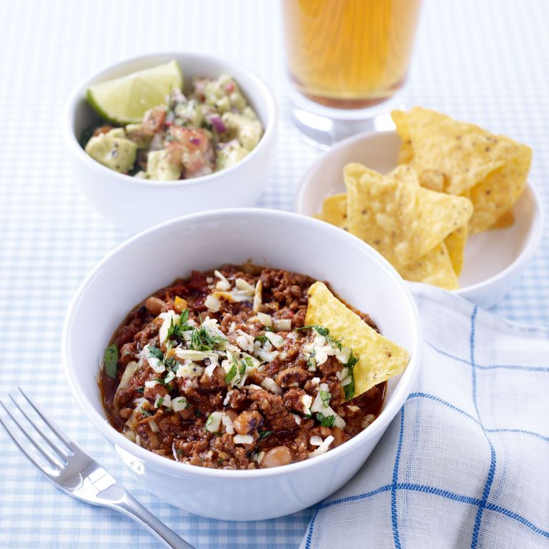 Black-Eyed Bean and Beef Chilli recipe-beef recipes-recipe ideas-new recipes-woman and home