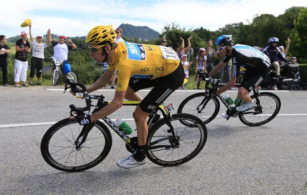 Bradley Wiggins, Tour de France 2012, stage 12