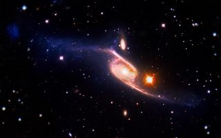 tidal dwarf galaxy candidate space wallpaper