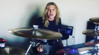 Steven Adler playing on classic Guns N' Roses song You Could Be Mine