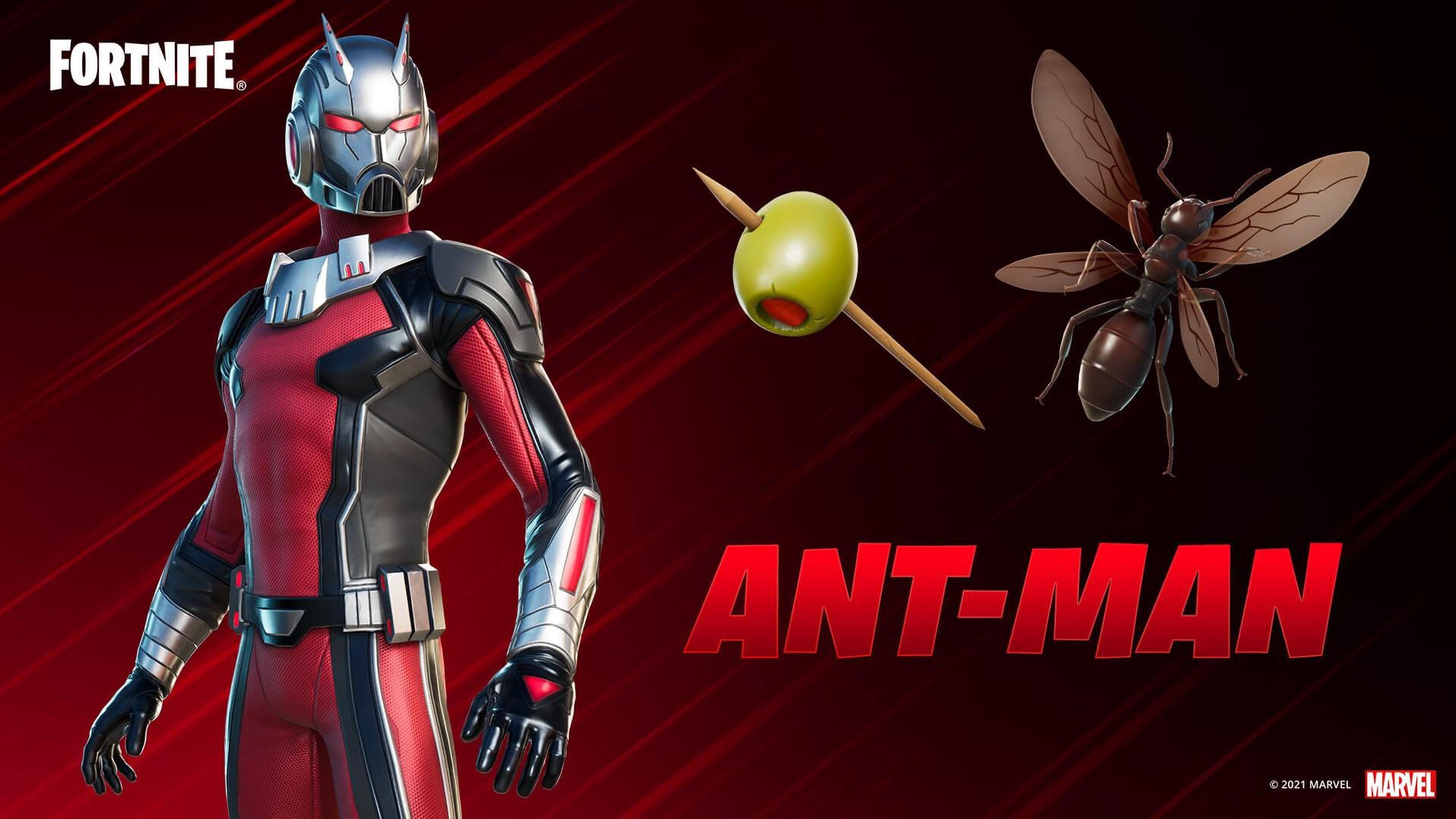 Ant-Man skin set