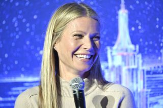 Gwyneth Paltrow at a panel discussion in New York City on February 03, 2020.