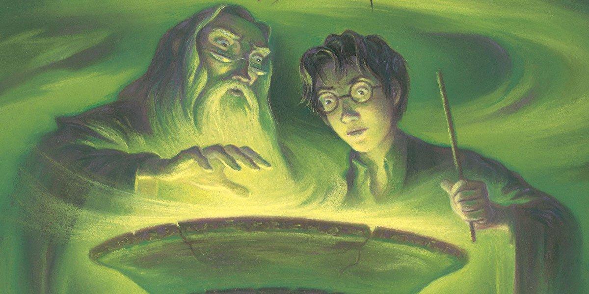 Harry Potter book cover art, photo courtesy of publishing company
