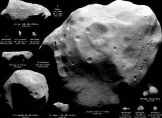 Asteroid Sizes