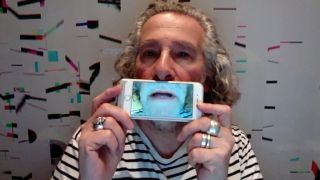 A still from Kevin Godley's PledgeMusic video