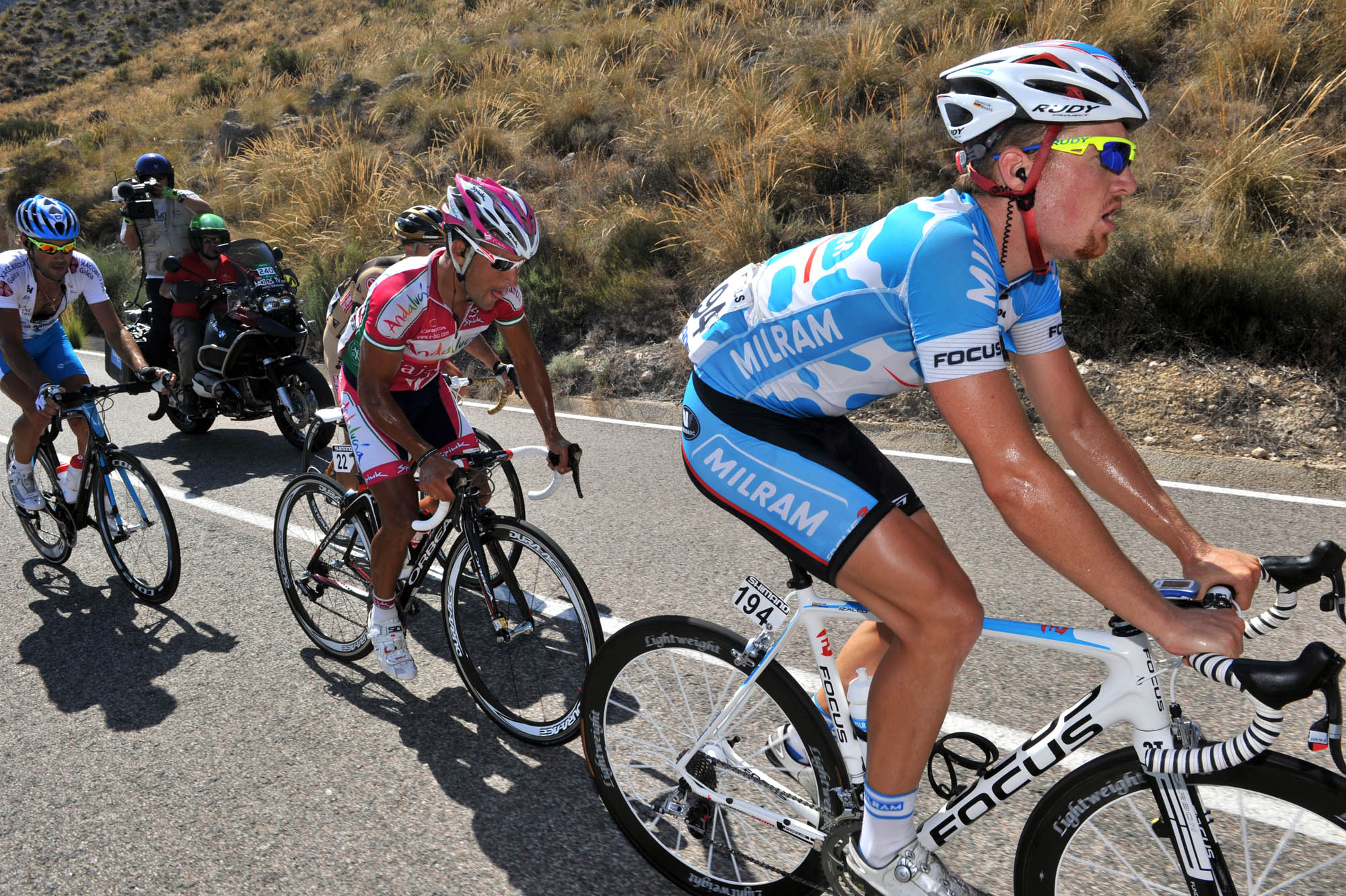 Roels escape, Vuelta a Espana
