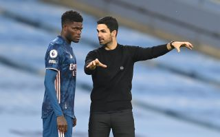 """Mikel Arteta wants to see Thomas Partey become a """"boss"""" for Arsenal."""
