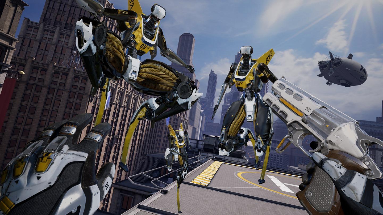 Best Oculus Quest games 2021: robo recall