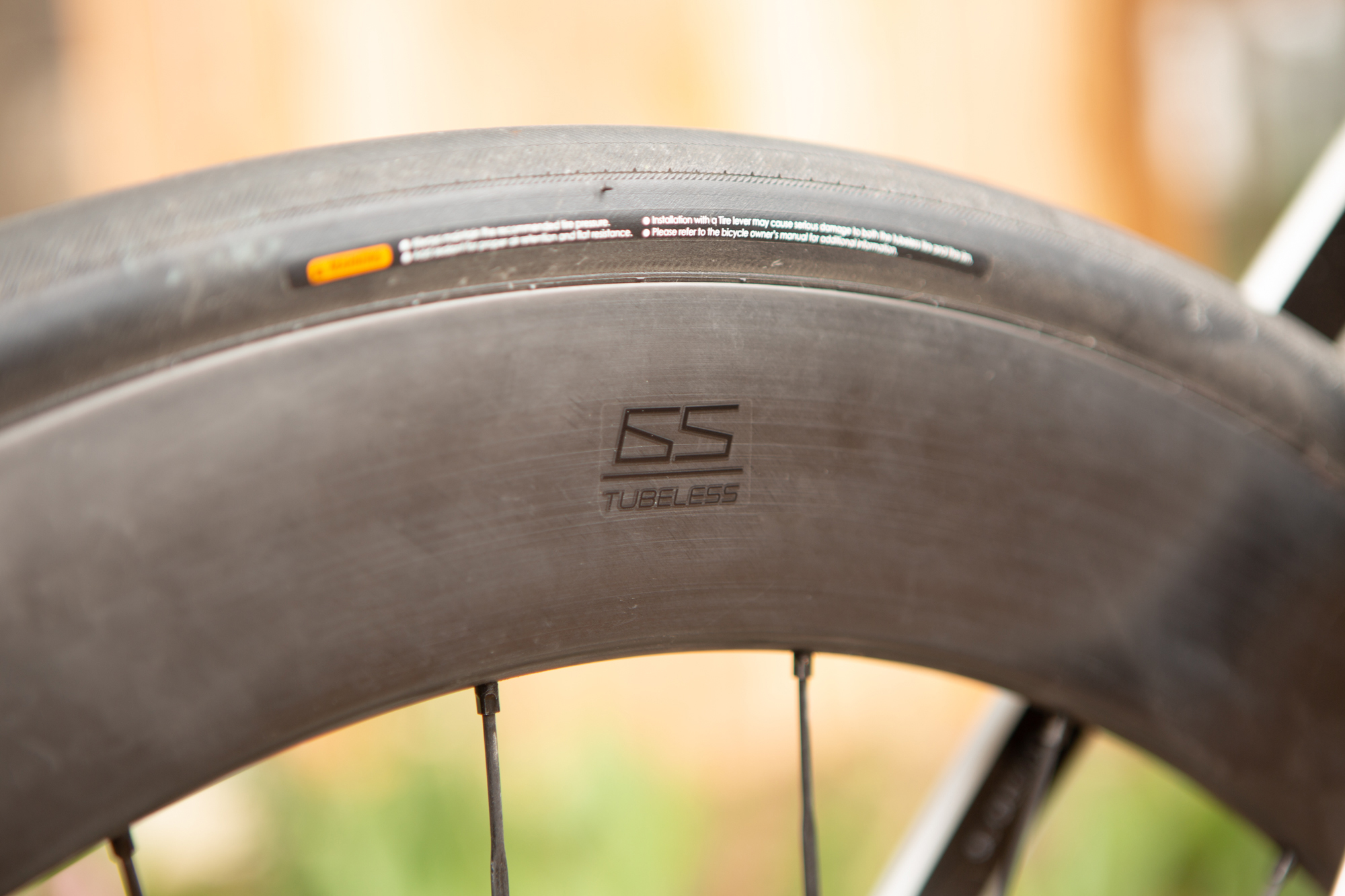 CADEX 65mm Road Tubeless Wheelsystem