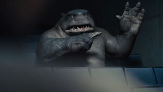 """Sylvester Stallone is King Shark in """"The Suicide Squad."""""""