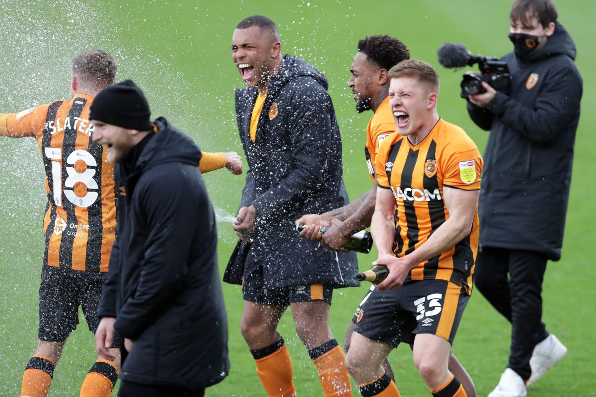 Greg Docherty delighted to justify Rangers exit with Hull promotion