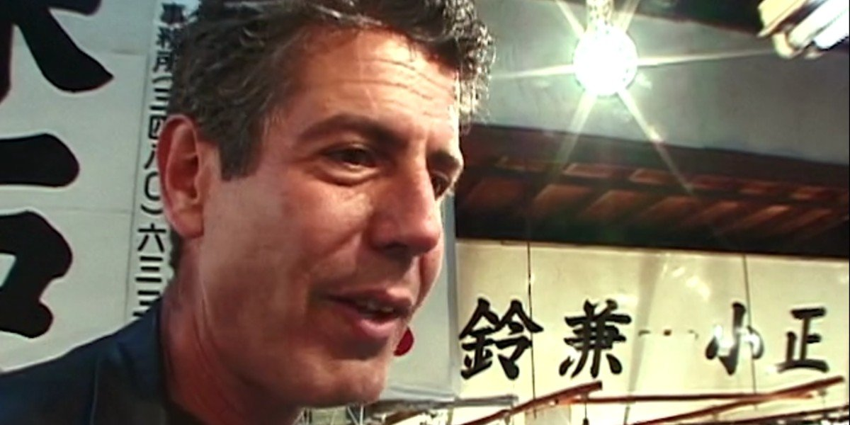 Anthony Bourdain in The Cook's Tour