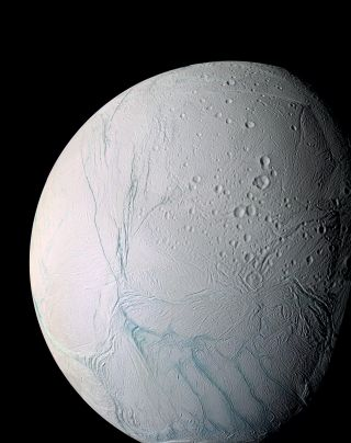 'Tiger Stripes' on Enceladus