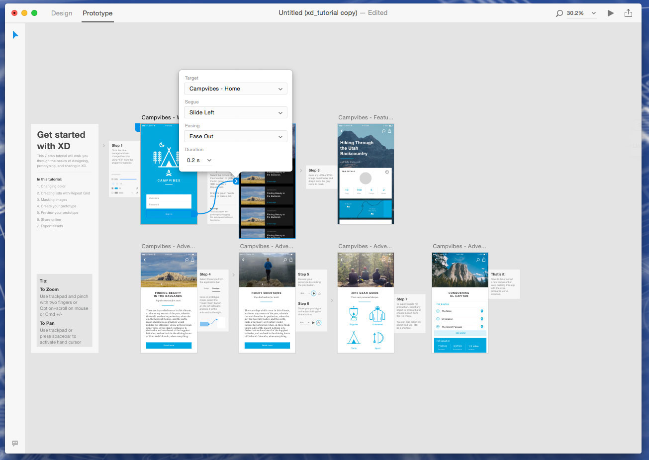 Get started with prototyping in Adobe XD | Creative Bloq