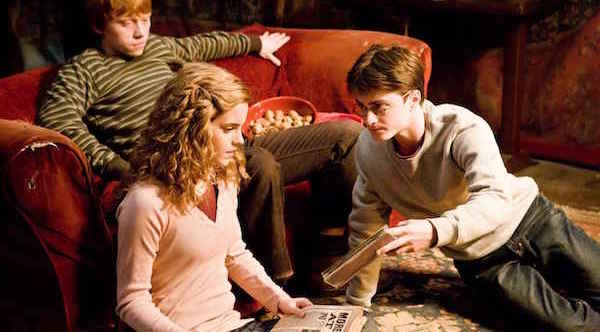 Harry Potter reading