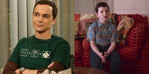 The Big Bang Theory Young Sheldon Cooper