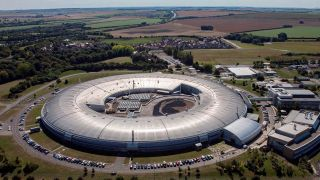 Diamond Light Source is the UK's national synchotron