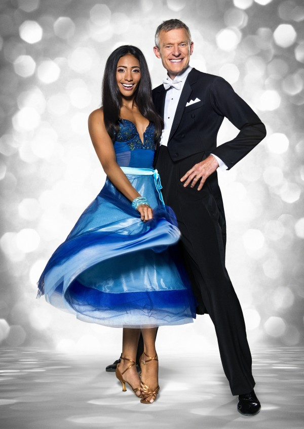 Jeremy Vine and Karen Clifton