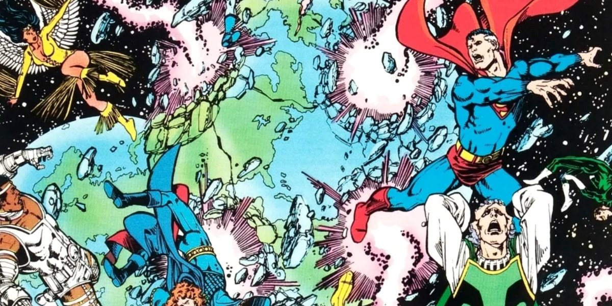 The first issue of DC's Crisis on Infinite Earths