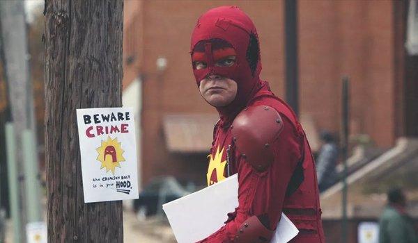 Rainn Wilson as Frank Darbo a.k.a. Crimson Bolt in Super