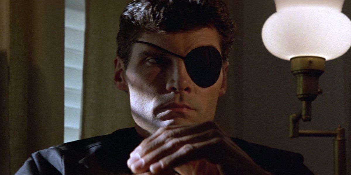 Silver Bullet Everett McGill wearing eyepatch