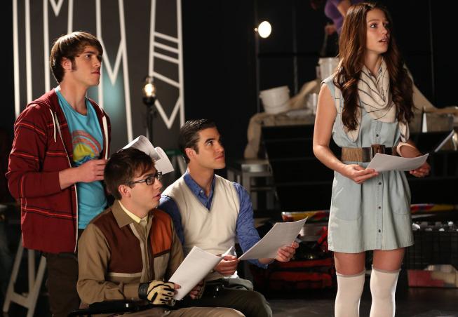 Glee Photos For November Episodes Tease Adam Lambert, Twerking And More #29532