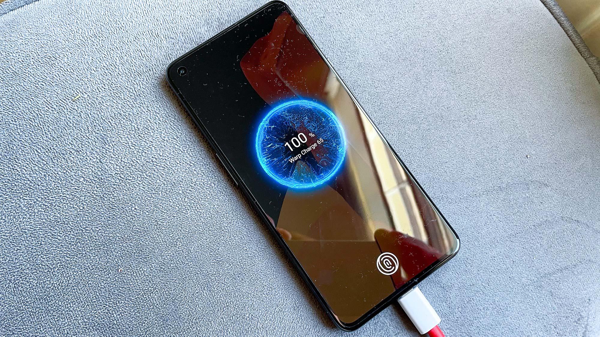 OnePlus 9T: OnePlus 9 charging
