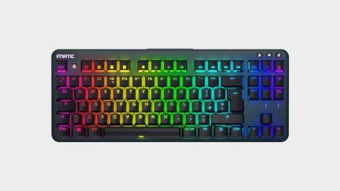 Fnatic Ministreak gaming keyboard