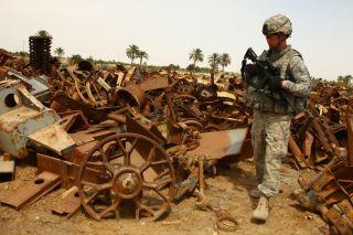 U.S. soldier in Iraq