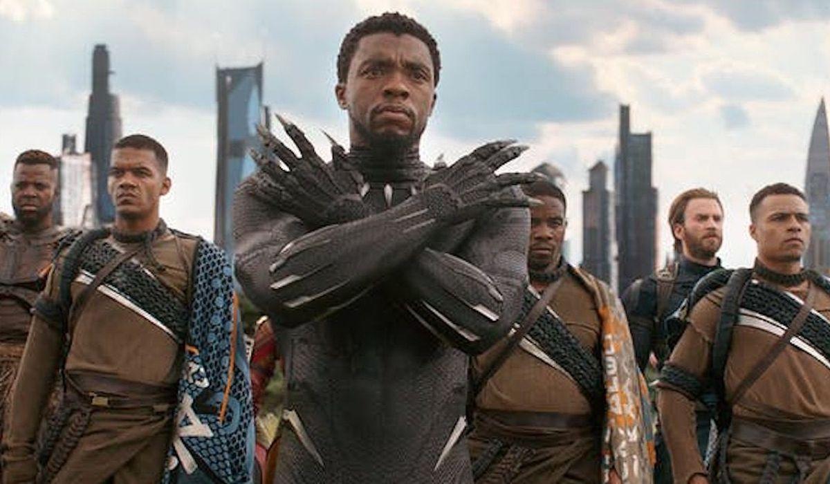 Wakanda Forever salute