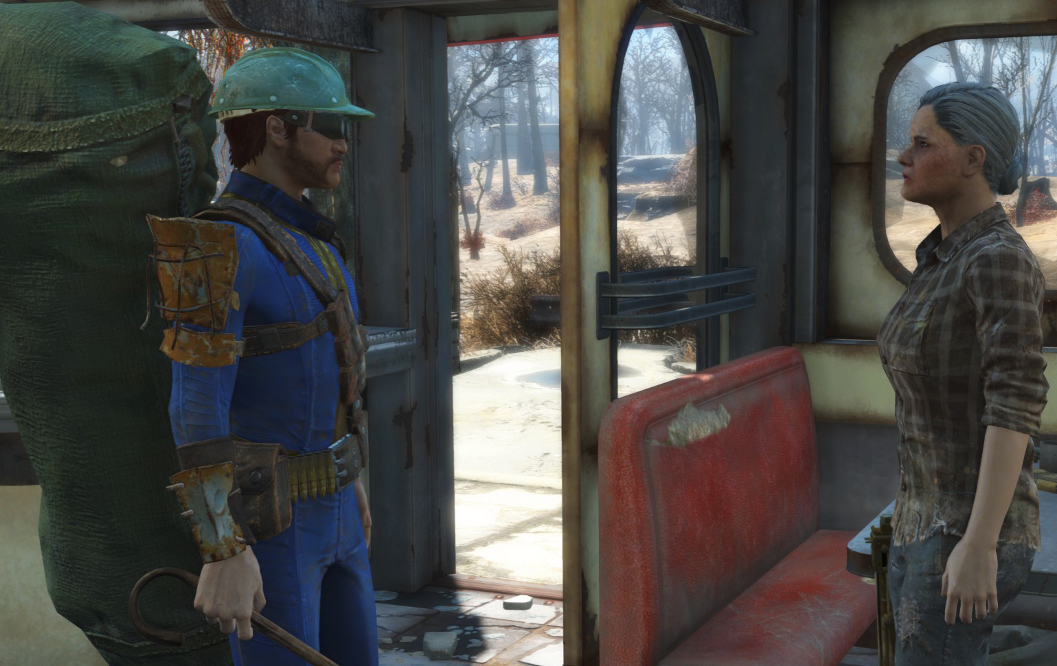 Playing Fallout 4 with a non-lethal knockout mod, Part 3