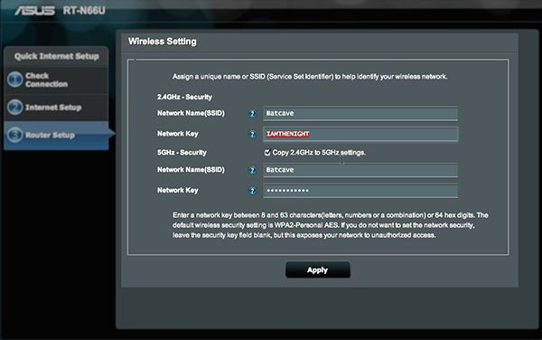 How to Set Up the ASUS RT-N66U 'Dark Knight' Router | Tom's Guide