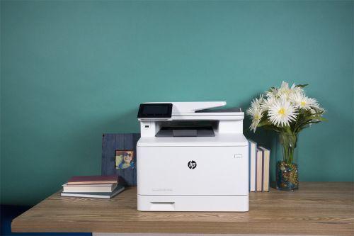HP LaserJet Pro MFP-M477fdw Review | Top Ten Reviews