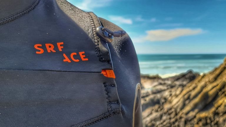SRFACE Heat wetsuit in use
