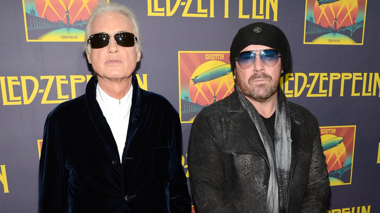 Jason Bonham apologises to Jimmy Page over cocaine comments