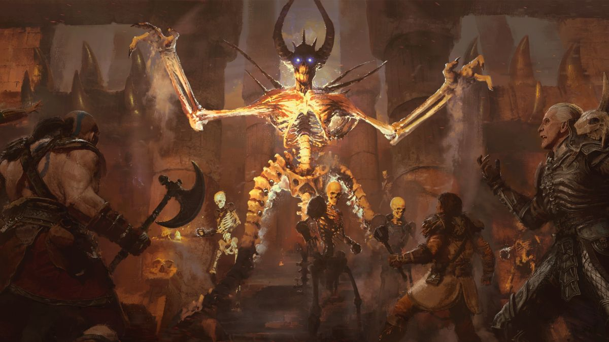 Diablo 2 Resurrected video lets you compare between remade and original gameplay