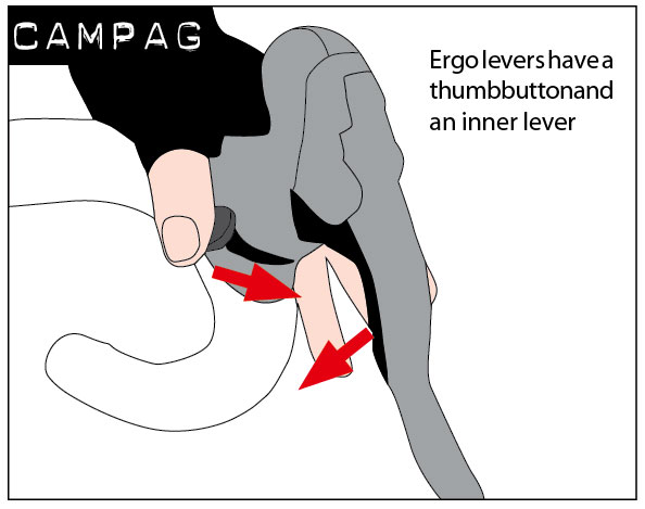 Campagnolo-gear-shifting